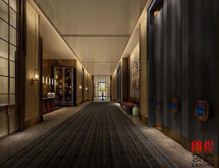 星级酒店装修设计-走廊
