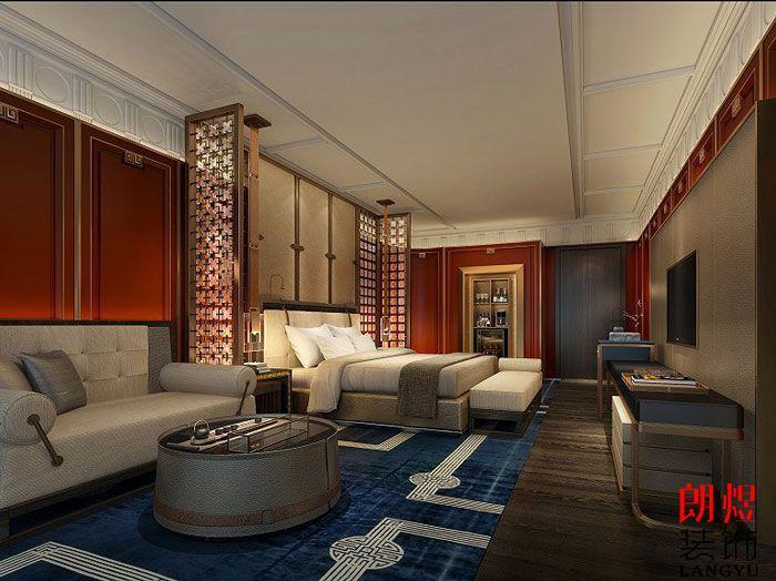 星级酒店装修设计-客房