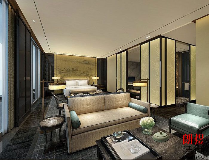 星级酒店装修设计-客房布局