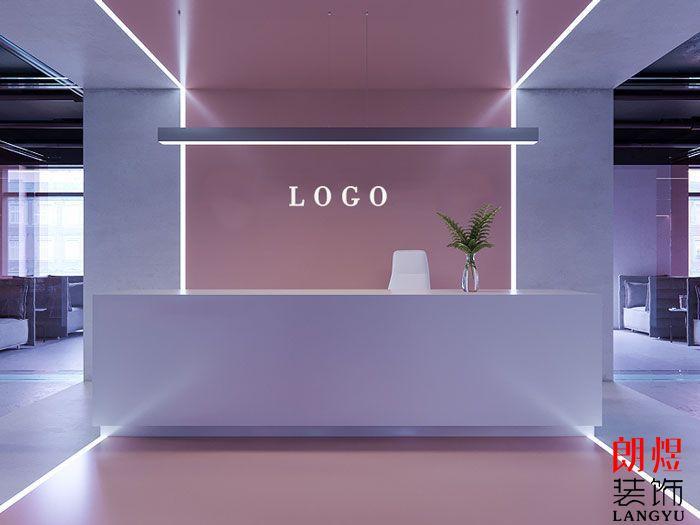 简约办公空间设计效果图