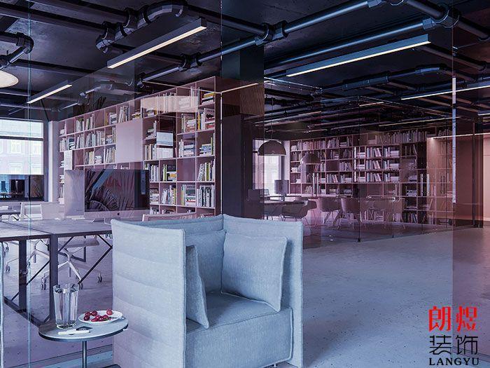 简约办公空间设计大厅空间