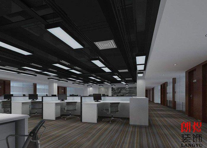 办公空间装修效果图