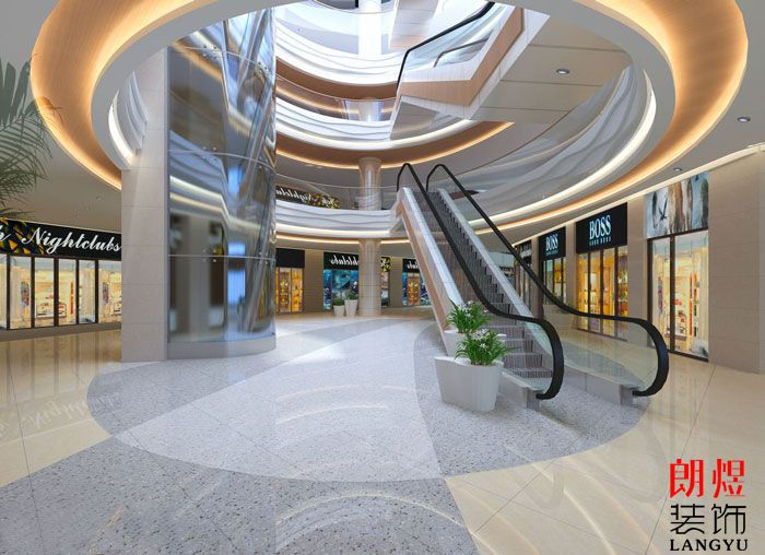 商业空间装修效果图