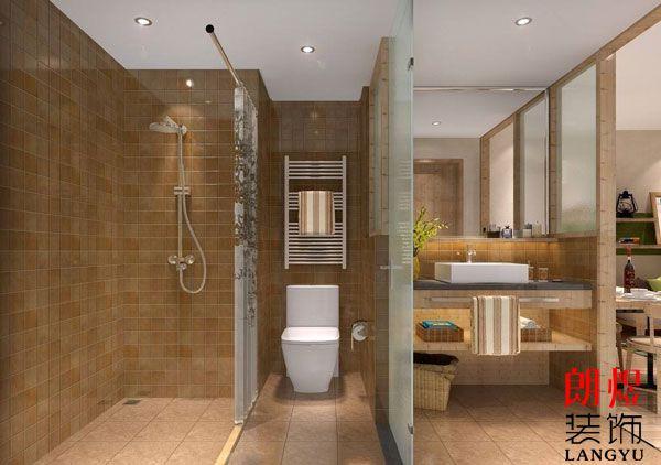 酒店装修客房洗手间