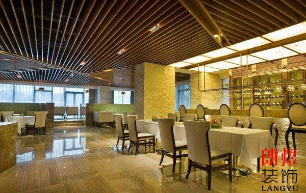 酒店餐厅布局设计方案