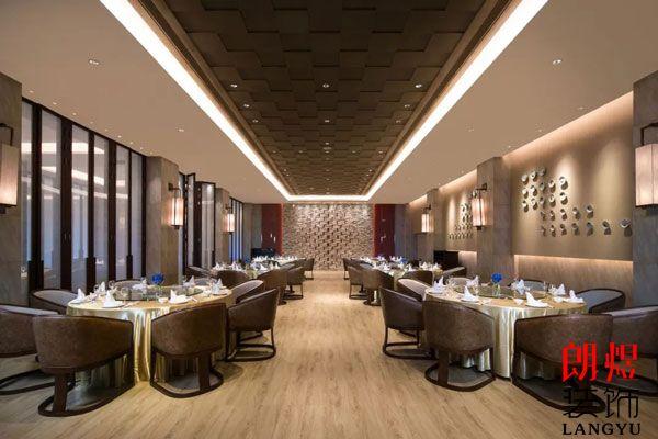酒店装修关于餐厅布局装修设计理解