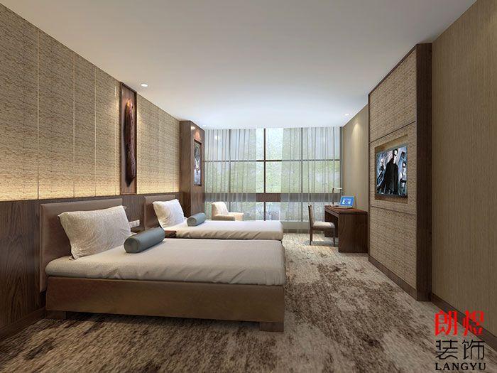 古典与现代融合酒店装修效果图