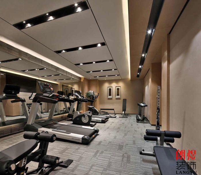 成都酒店设计健身中心