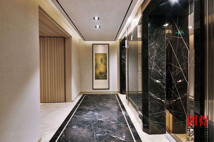 成都酒店设计电梯厅