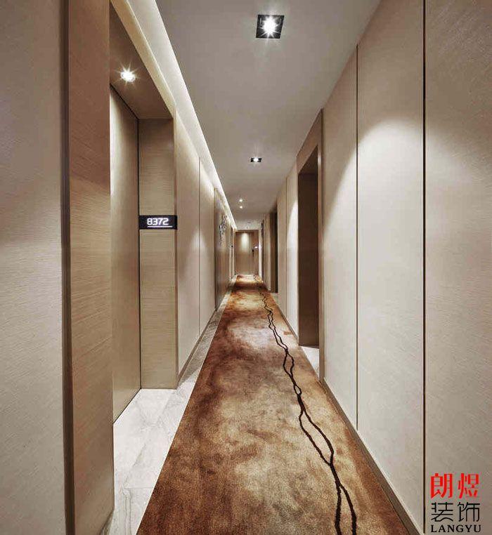 成都酒店设计走廊