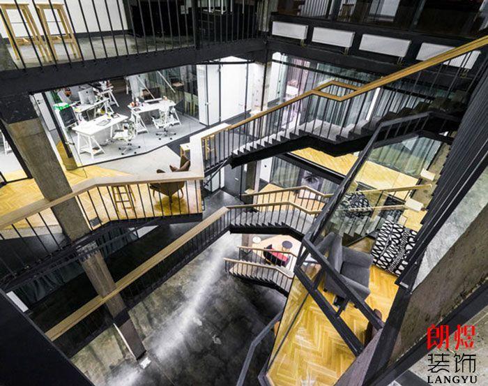 成都loft办公室装修效果图12000平
