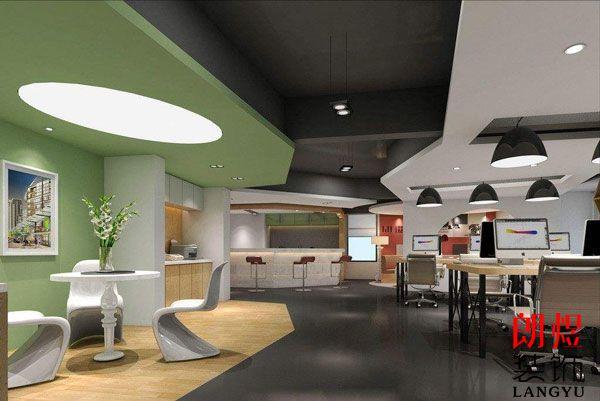 成都办公室装修公司不同类型设计方式