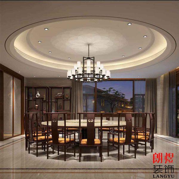 中餐厅灯光设计
