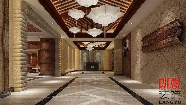 酒店大堂设计方案