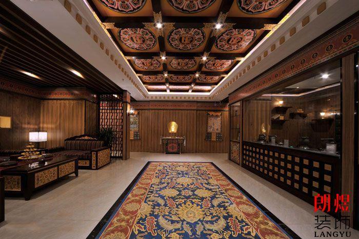 藏族文化元素酒店装修设计