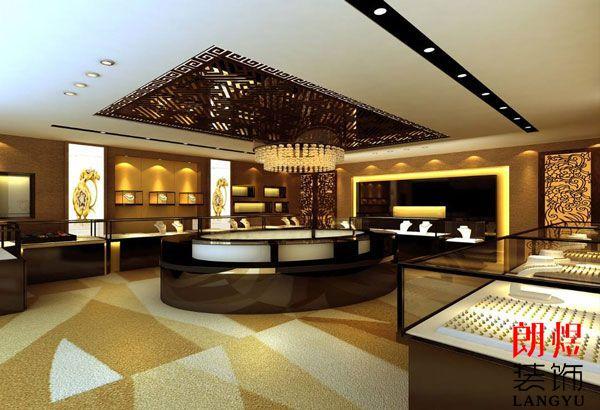 珠宝店装潢设计