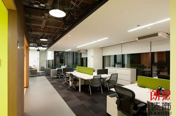 办公室装修设计色彩根据哪些方面进行?