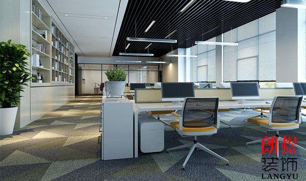 成都办公室装修中如何解决采光问题?