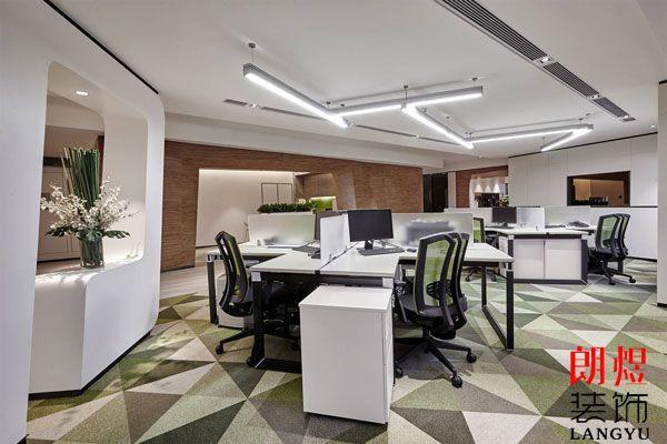 简约清新的办公空间装修为什么受大家欢迎?