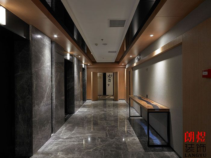 酒店室内电梯厅设计