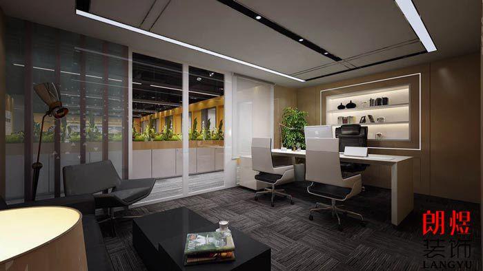 纺织公司办公室装修独立空间