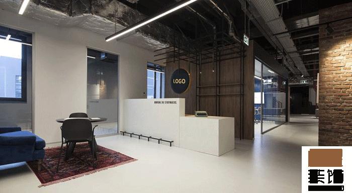 广告公司办公室装修设计效果图