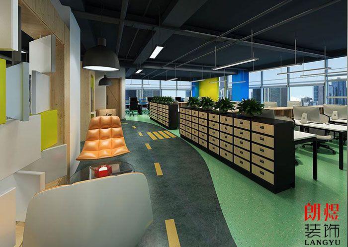 成都办公室装修扩大空间的技巧