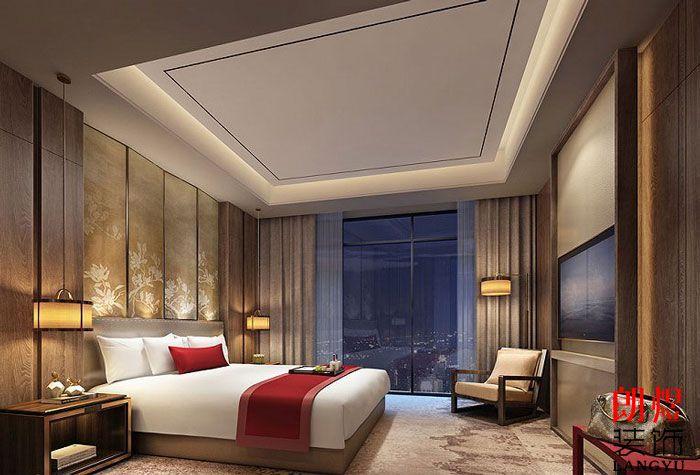 酒店装修设计效果图客房 室内