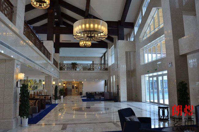 酒店大堂装修设计需遵循的四个原则和注意事项