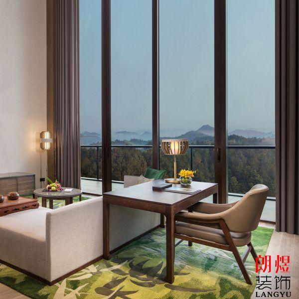 新中式酒店装修设计案例欣赏及分享