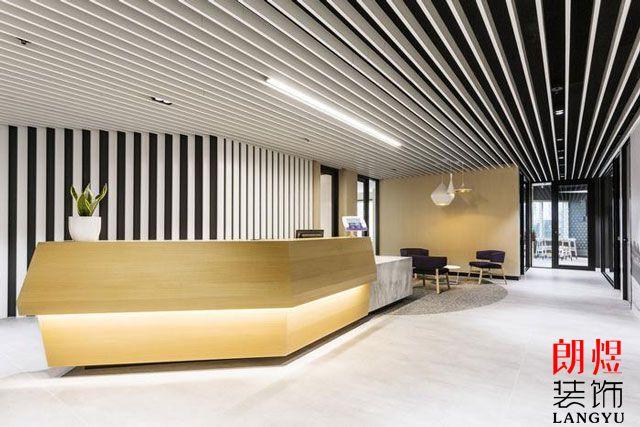 办公室设计装修前台