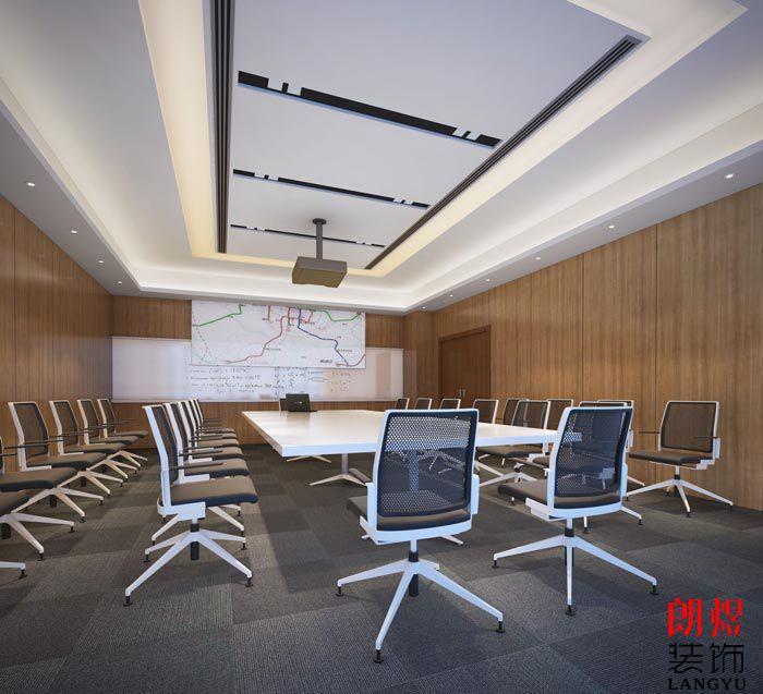 公司办公室装修会议室