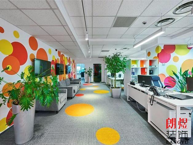 成都企业办公室装修主题风格设计