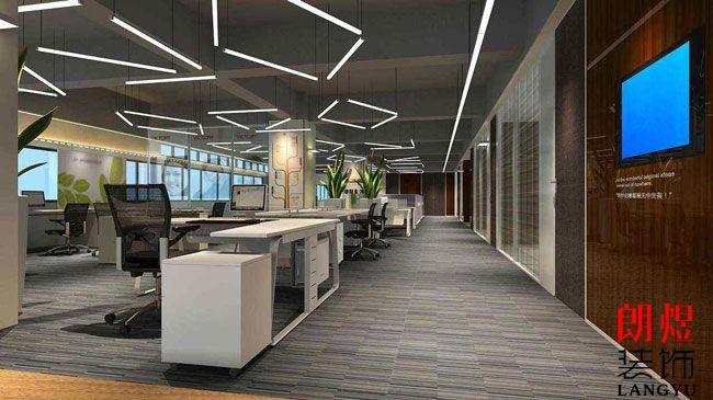 商务类型企业办公室装修设计方案