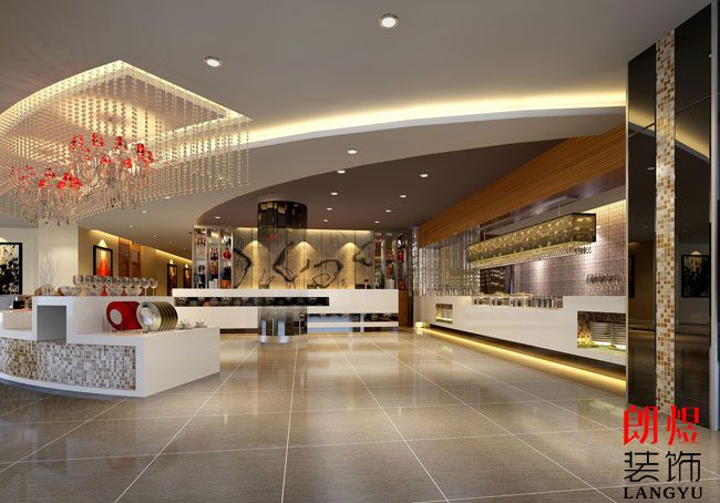 酒店共享空间装修效果图