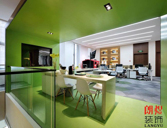 办公室装修设计公司颜色搭配