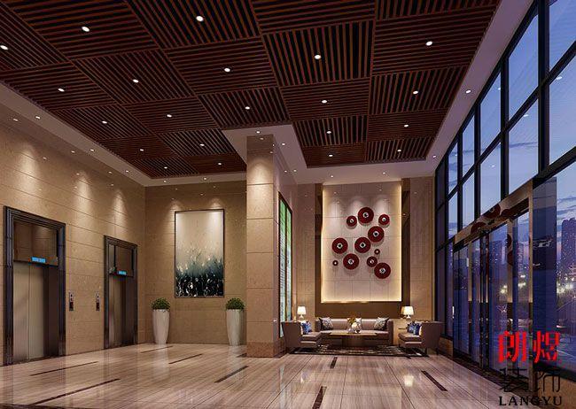 五星级酒店电梯厅装修