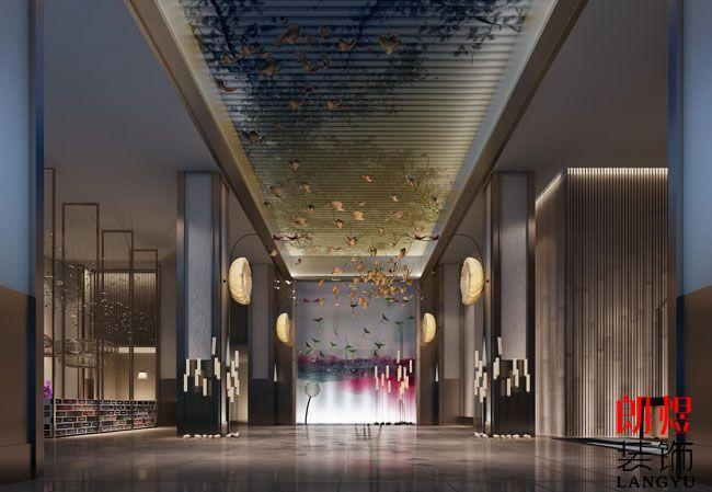 酒店设计装修大厅