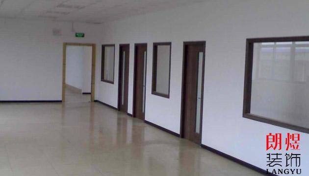 办公室装修石膏板隔断