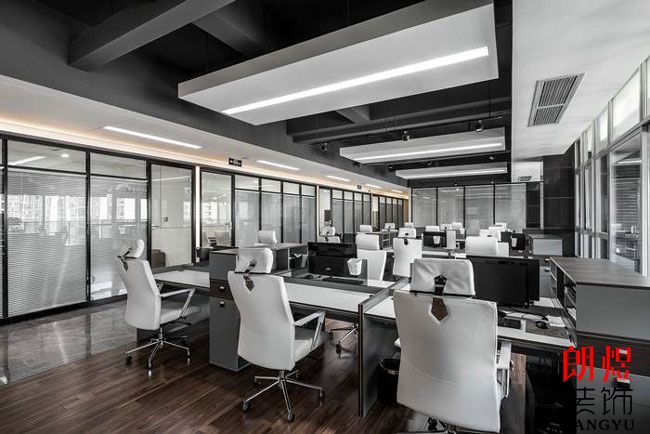 企业办公室装修图