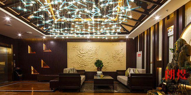 商务型酒店设计接待区