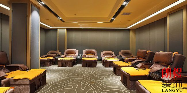 商务型酒店设计休闲区域