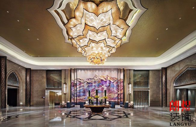 酒店大堂吊灯设计