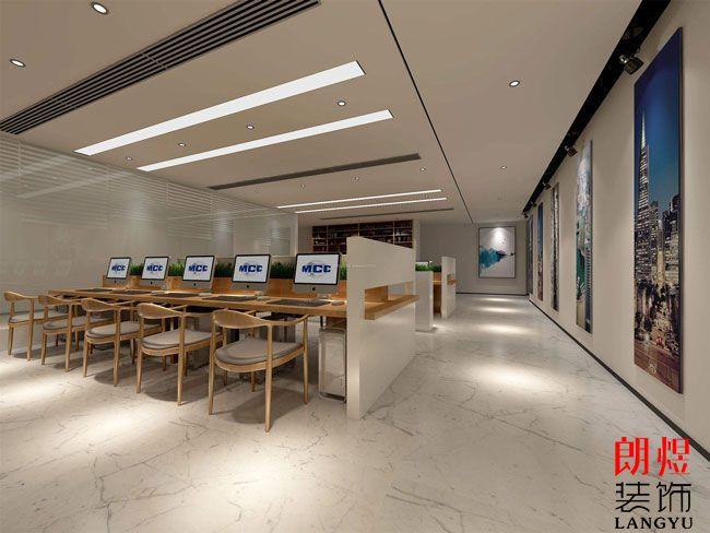 办公室装修地板砖装饰
