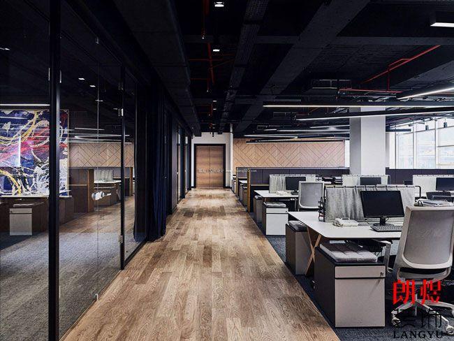 办公室装修木地板装饰