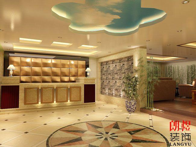 小型宾馆装修设计大厅