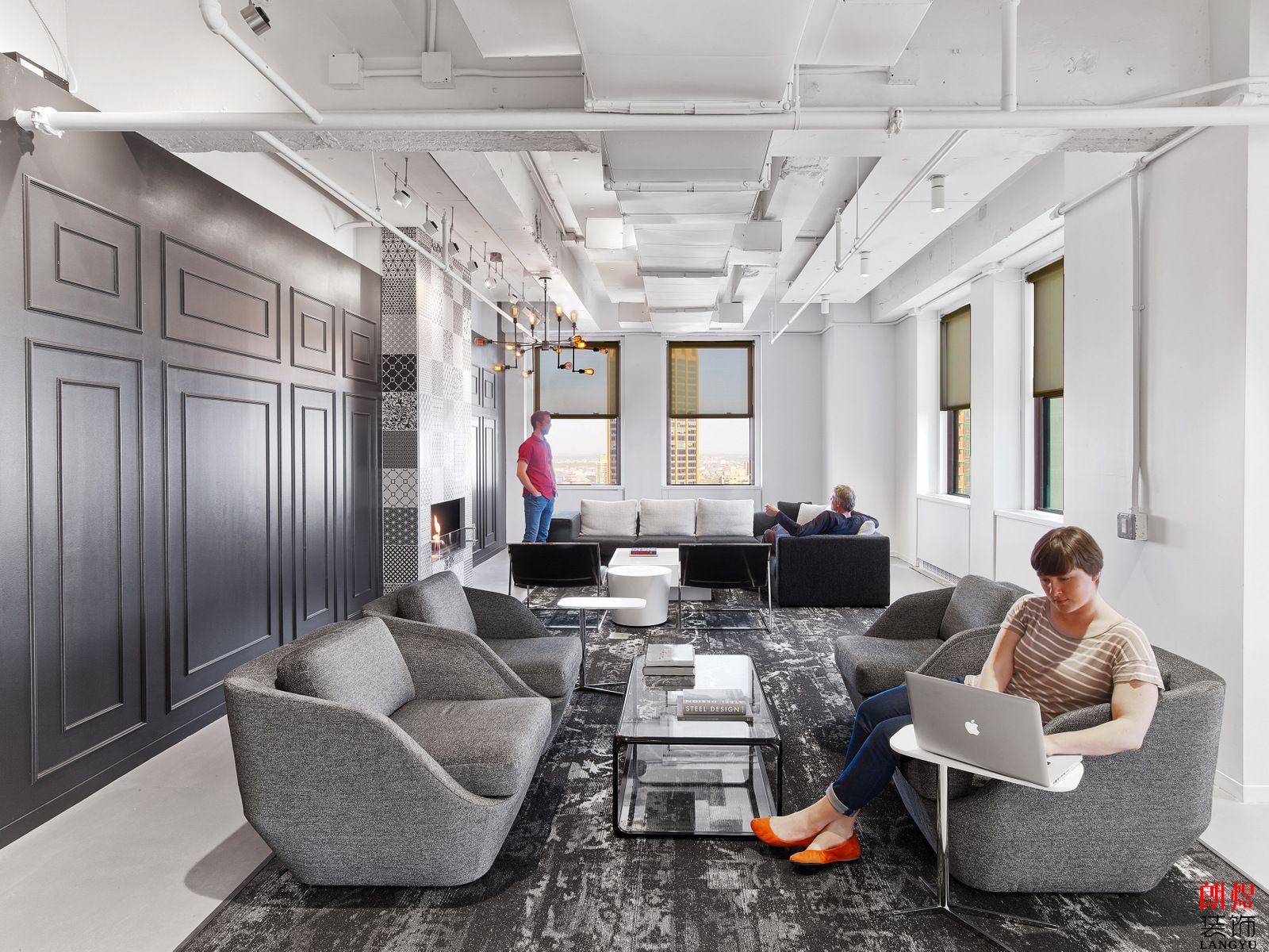 办公室装修接待区
