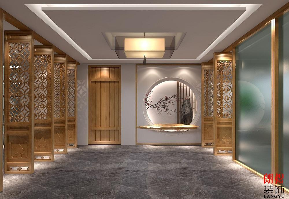 酒店中式风格装修效果图