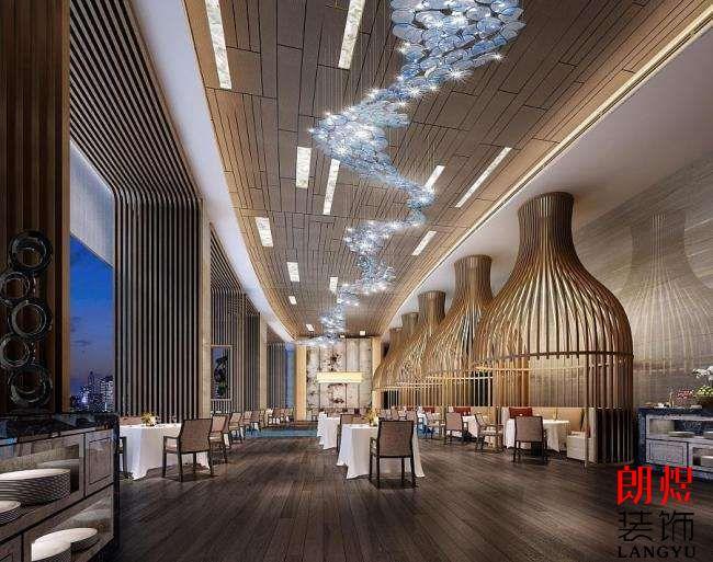 酒店现代风格效果图