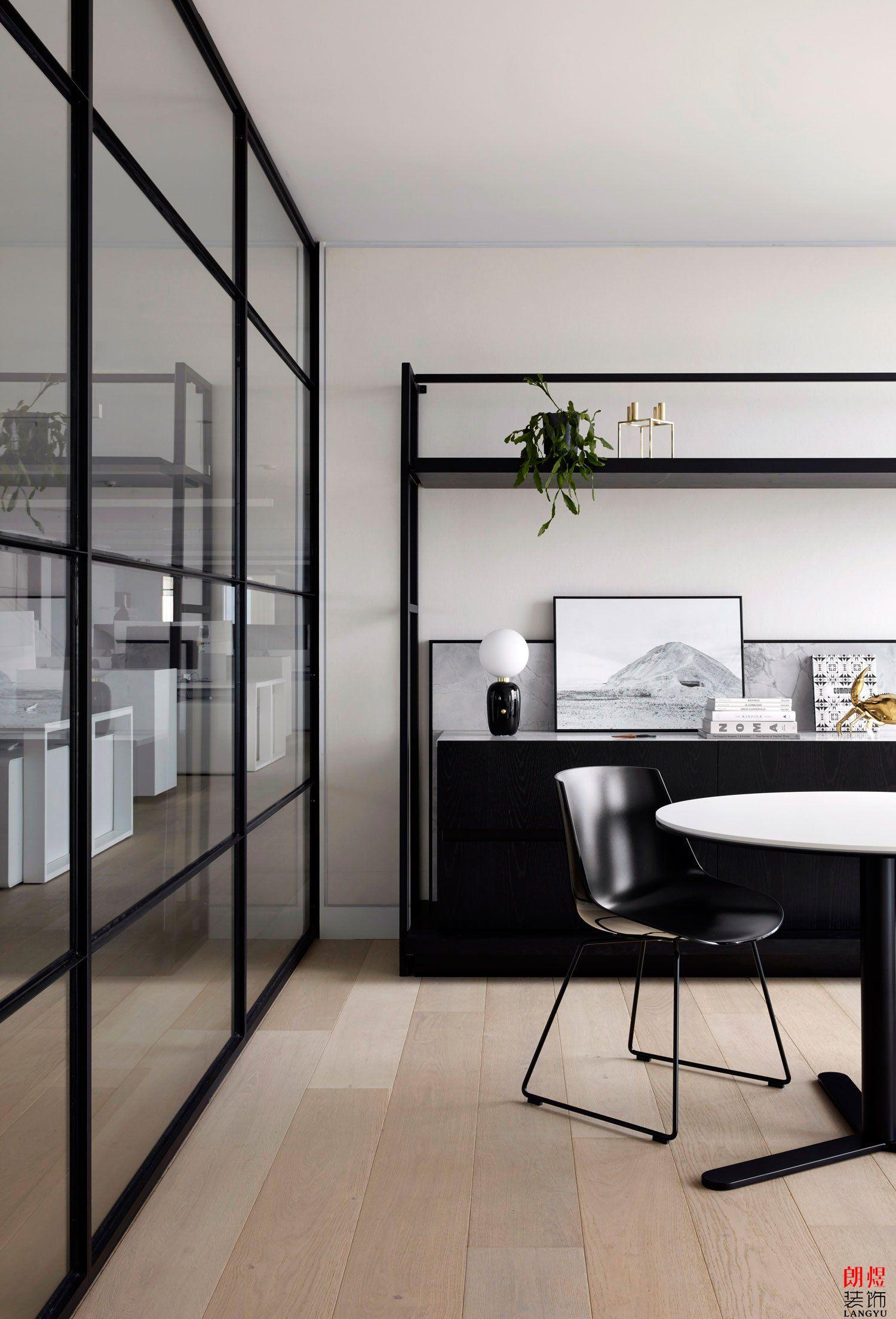 现代极简风格办公室装修|成都朗煜公装案例